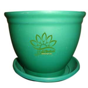 گلدان سبز سایز ۱۰