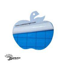 کارت آبی جذب کننده حشرات طرح سیب ۴ عددی